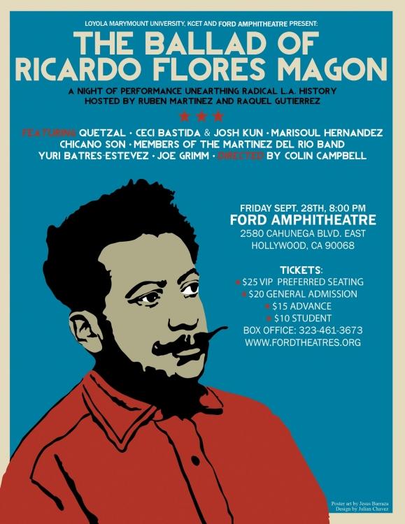 Variedades: The Ballad of Ricardo Flores Magón